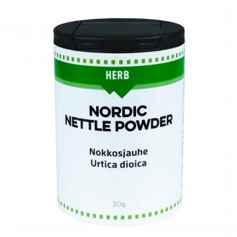 Kotimainen nokkojauhe 30 g | Nordic Gusto