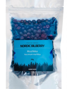 Pakastekuivattu mustikka | Nordic Gusto