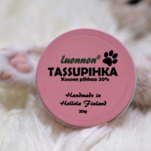 Tassupihkasalva vaaleanpunainen purkki | Luonnon Cosmetics Hollola