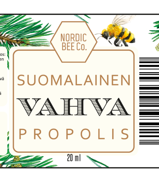 Vahva suomalainen propolisuute | Nordic Be Co.